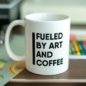 Fueled by art and coffee