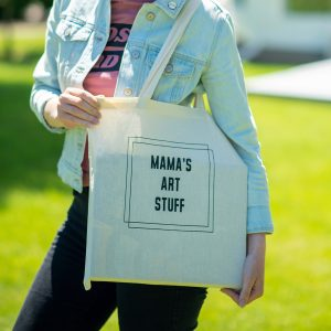 Mama's Art Stuff Tote Bag