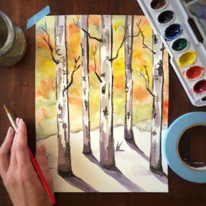 watercolor online workshop