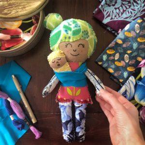 diy rag dolls online class